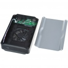 "Super Speed USB 3.0 3.5"" SATA HDD Enclosure - Silver + Black"