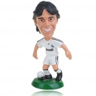 Buy Cute Soccer/Football Star Resin Display Figure - KAKA (White)