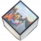 Amazing Rotating Cube Photo Frame (1*AA)
