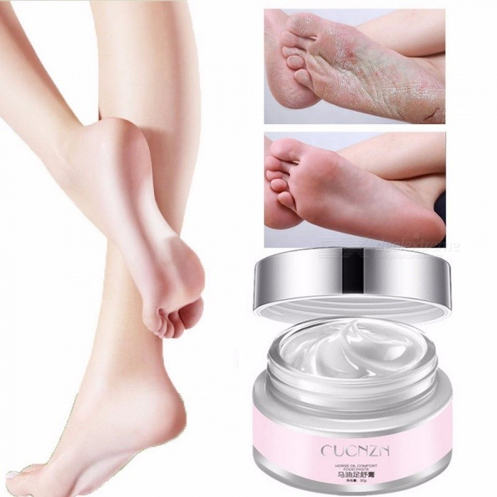 Horse Oil Foot Care Cream Anti-chapping Antibacterial Scar Removal Skin Lightening Cream Whitening Foot Moisturizing