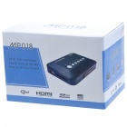 Mini 1080P Full HD Media Player with AV/YPrPb/HDMI/USB/SD/MMC - Black