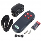 Pet Safe Electronic Shock/Viberating Dog Training Collar with Remote Control (2*AAA + 1*6F22 9V)