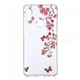 ESAMACT High-Quality Flower Pattern TPU Case / Back Cover for Xiaomi Red Mi Note 5PRO