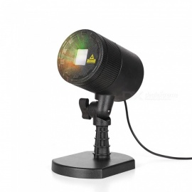 Blinblin Red and Green Laser Light Raindrops Projection Lamp for Garden Decoration