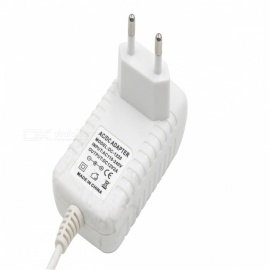 24W EU Plug Power Adapter Charger Power Supply AC 100-240V to DC 12V 2A Converter - White