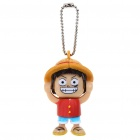 Buy Cute Monkey.D.Luffy Figure Bag Chain with Different Faces