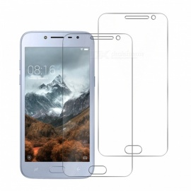 Naxtop 2PCS 2.5D Tempered Glass Screen Protector for Samsung Galaxy J2 Pro (2018)/J2 (2018)/Grand Prime Pro