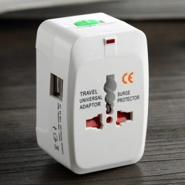 931D Universal Travel Socket / Power Charger Converter EU UK US