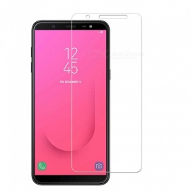 Naxtop 2PCS 2.5D Tempered Glass Screen Protector for Samsung Galaxy J8 (2018) EU Version
