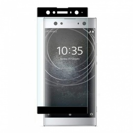 Naxtop Full Tempered Glass Screen Protector for Sony Xperia XA2 Ultra - Black