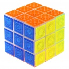 3x3x3 Brain Teaser Magic IQ Cube with Flashing LED White Light