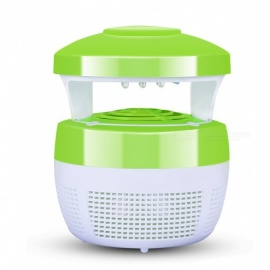 HakkaDeal LED Home Quiet Safety Photocatalyst Mosquito Killer Lamp - Green