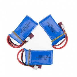 3 PCS 7.4V 1400mAh Lithium Polymer High Power Li-po Battery for Syma X8C X8W RC Quadcopter