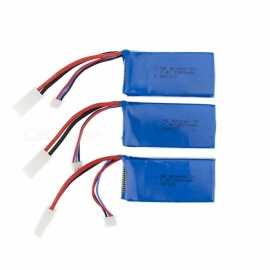 3 PCS 7.4V 1500mAh Lithium Polymer High Power Li-po Battery for Syma X8C X8W RC Quadcopter