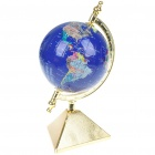3D Earth Puzzle Sphere - Golden + Dark Blue (24-teilig)