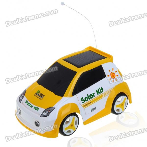 Solar Powered/USB Rechargeable Remote Control Car Toys