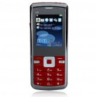 "N9 2.0"" LCD Tri-SIM Tri-Network Standby Dualband GSM TV Cell Phone w/ FM Radio + Flashlight - Red"