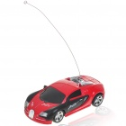 Cool R/C Model 1:32 Scale Plastic Racing Car - Red + Black (3*AA/2*AA)
