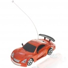 Cool R/C Model 1:32 Scale Plastic Racing Car - Orange (3*AA/2*AA)