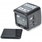 MP3 Music Speaker w/ FM / SD Slot / USB Host / Multi-Color LED - Black