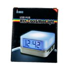 Multicolored Mood Light with 4-Port USB Hub