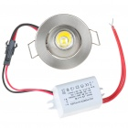 1W 100-Lumen 3500K Warm White LED Ceiling Lamp/Down Light with LED Driver (AC 85~265V)