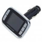 1.8&quot; TFT LCD MP3/MP4 Player FM Transmitter with Remote Controller/SD/TF Slot - Black + Silver