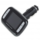1.8&quot; TFT LCD MP3/MP4 Player FM Transmitter with Remote Controller/SD/TF Slot - Black
