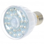 E27 2W 23-LED Infrared Sensor Motion Activated White Lamp (220~240V)