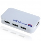 USB 3.0 4-Port Hub with Power Adapter (Super Speed 5Gbps)