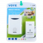 Wireless Remote Control Chime Door Bell with 38-Melody (2*AA + 1*23A)