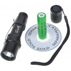 UltraFire C1 XM-LT6 5-Mode 510-Lumen Memory White LED Flashlight with Clip/Strap (1*18650)
