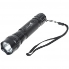 UltraFire WF-501B XM-LT6 1-Mode 510-Lumen White LED Flashlight with Strap (1*18650)