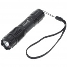 UniqueFire G10 1-Mode 350-Lumen White LED Flashlight w/ CREE XP-G R5 / Strap (1*14500/1*AA)