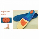 Sports Insoles Women Men Insole Shoes Pad Orthopedic Massage Damping Deodorant Military Soft Comfortable Insole Light Green