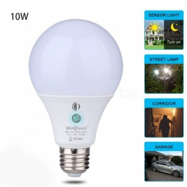 MIFXION Sensor Light Bulb 360° Dusk to Dawn Bulb Lamp E27 A19 10W Indoor Outdoor Yard Porch Patio Garage Garden Daylight