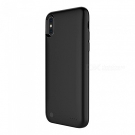 JEDX 3800Ah Power Bank Case, Battery Charging Ultra Slim External Pack Backup Portable Charger Case for IPHONE X - Black