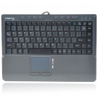 Genuine MC Saite 88-Key Portable USB Wired Keyboard w/ Touchpad (160CM-Cable)