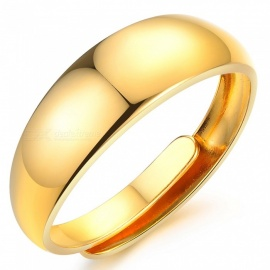 XSUNI Electroplating 18K Yellow Gold Ring - Gold