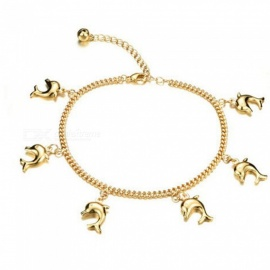 JEDX Dolphin Ladies Foot Chain, Simple Elegant Fashion Foot Chain