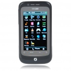"F1 3.2"" Touch Screen Dual SIM Dual Network Standby Quadband GSM TV Cell Phone w/ WIFI+JAVA - Black"