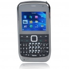 "E7 2.0"" LCD Tri-SIM Tri-Network Standby Quadband GSM TV Cell Phone with FM - Black"
