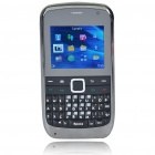 "E7 2.0"" LCD Tri-SIM Tri-Network Standby Quadband GSM TV Cell Phone with FM - Green"