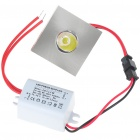 1W 100-Lumen 6500K Blanc LED plafonnier / Down Light avec LED Driver (CA 85 ~ 265V)