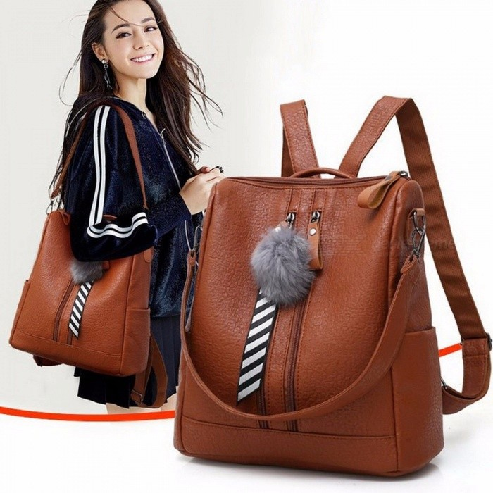 7246875fe65d Fashion Chic Large Capacity Dual Wear Women  s Bag Backpack