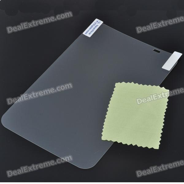 Anti-Glare Matte Screen Protector/Guards + Cleaning Cloth for Samsung P1000 Tablet free shipping original and new 7inch lcd screen hv070wsa 100 hv070wsa for p1000 p6200 p3100 p3110 tablet pc