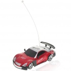 Cool R/C Model 1:32 Scale Plastic Racing Car - Red + Silver + Black (3*AA/2*AA)