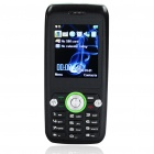 "K8 2.0"" LCD Tri-SIM Tri-Network Standby Tri-band GSM Cell Phone w/ FM Radio + Flashlight - Black"