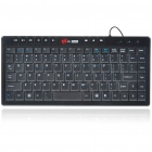 Genuine MC Saite 87-Key Mini Portable USB Wired Keyboard (140CM-Cable)