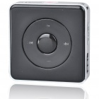 Stylish Mini USB Rechargeable MP3 Player - Black (2G)